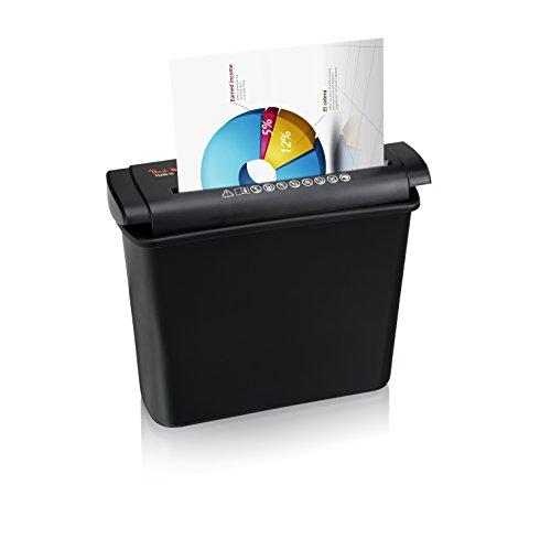 Peach PS400-15 Streifenschnitt Aktenvernichter | 6 Blatt | 7 Liter | 6mm Streifenbreite (P-2)| Multitalent für Zuhause | schreddert Papier und Kreditkarten - 3