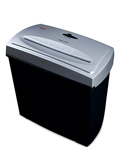 Peach PS500-15 Partikelschnitt Aktenvernichter | 5 Blatt | 11 Liter | 4x40 mm Partikelgröße | schreddert Papier und Kreditkarten | Schneidgeschwindigkeit 2.2 m/min - 2