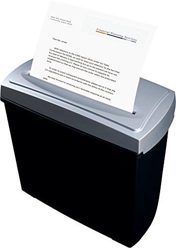 Peach PS500-15 Partikelschnitt Aktenvernichter | 5 Blatt | 11 Liter | 4x40 mm Partikelgröße | schreddert Papier und Kreditkarten | Schneidgeschwindigkeit 2.2 m/min - 3