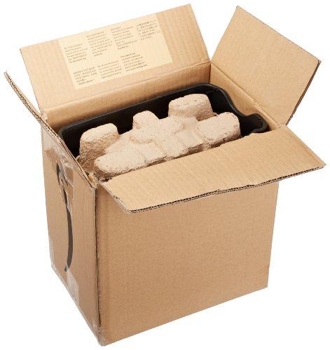 AmazonBasics Aktenvernichter, 5-6 Blatt Kreuzschnitt, für Papier und Plastikkarten - 4