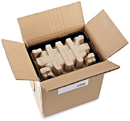 AmazonBasics Aktenvernichter, 10-12 Blatt, Kreuzschnitt, CD-Schredder - 11
