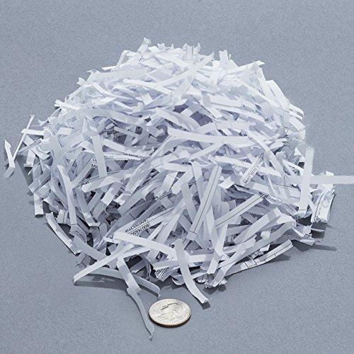 AmazonBasics Aktenvernichter, 10-12 Blatt, Kreuzschnitt, CD-Schredder - 8