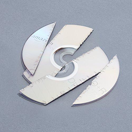 AmazonBasics Aktenvernichter, 10-12 Blatt, Kreuzschnitt, CD-Schredder - 10