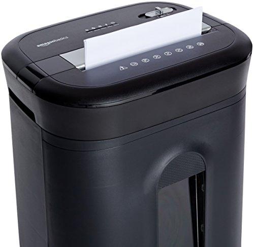 AmazonBasics - Kreuzschnitt-Schredder für 15 Blätter, für Papier, CDs und Kreditkarten - 4
